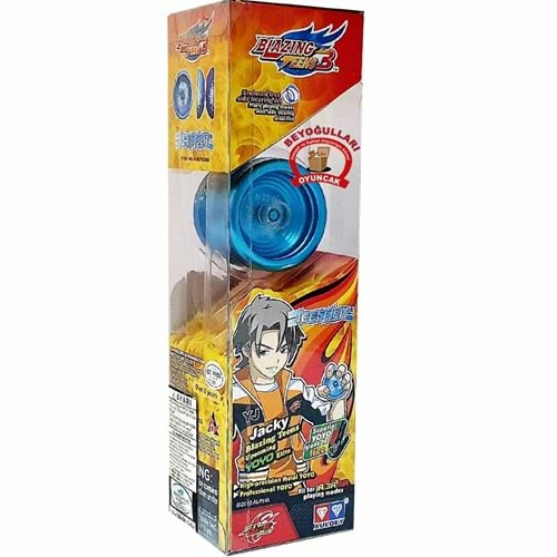 Blazing Teens 3 Ice Spirit Renkli Metal Yoyo YW675008